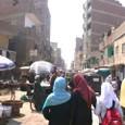 カイロ市内の繁華街