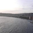 サンタ・ルチア海岸 from 卵城 (ここにまた戻ってみたいそうです!)