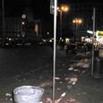 ゴミゴミしたナポリ市内(^^