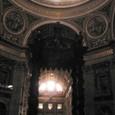 バチカン大聖堂内
