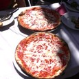 ランチのピザはイマイチだったとか(+o+)