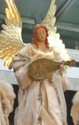 Angel at Christmas Market, Roppongi Hills