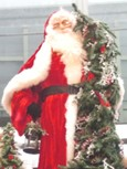 Sainta Clause at Christmas Market, Roppongi Hills
