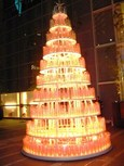 ピンクのクリスマス・ツリー