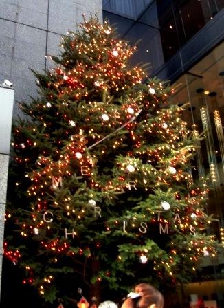 Mikimoto Christmas Tree in 2009