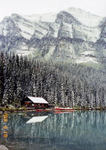 Lake Louise in Snow by Apollo
