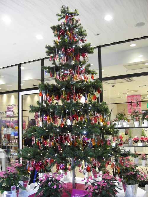 Christmas Tree in Printemps by Julia