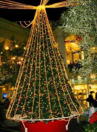 二子玉川 高島屋クリスマス・ツリー